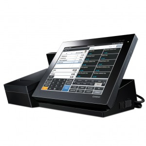 CRVR200 Casio POS Retail Business Support Terminal screen