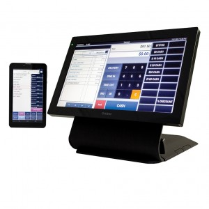 CRVR7100 Casio Touch Screen POS System with tablet