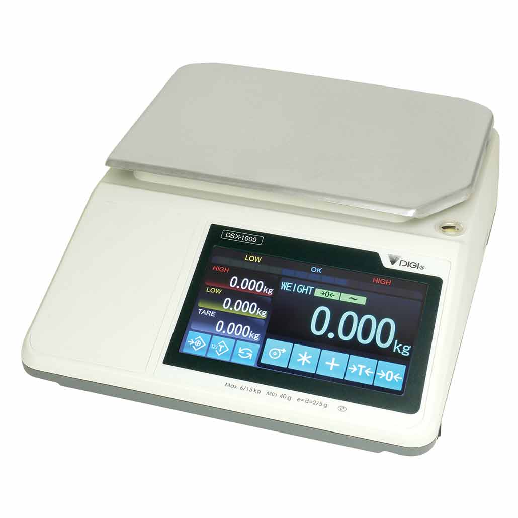 TSDSX1000 Bench Checkweighing Scale