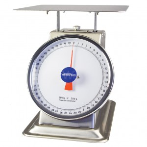 WS410 Dial Bench Scale front
