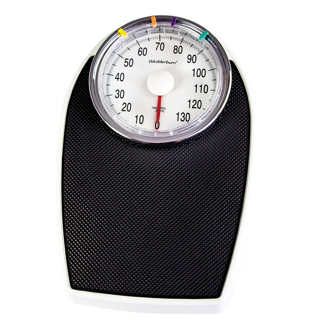 WS400136K Personal Scale with Mechanical Dial front