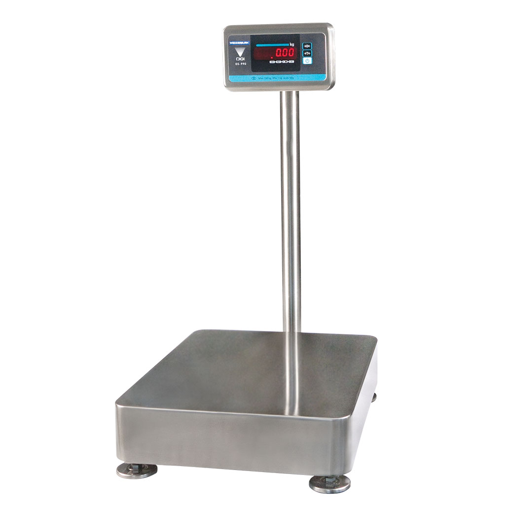 TSDS990 Platform Scale front