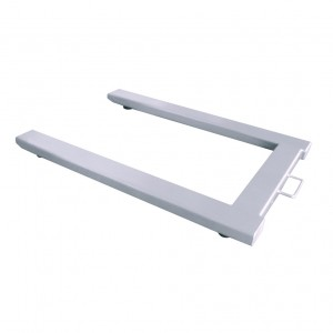WS01U1012SF100 U shaped SS Weighing Platform front