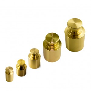 M1 Cavity Brass Test Weights 100g 2kg